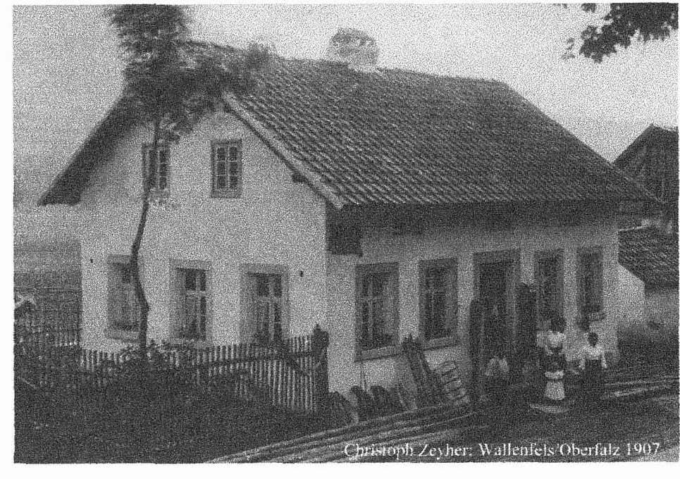 Handwerkstradition 1859 Der gelernte Sattler Christof Zeyher